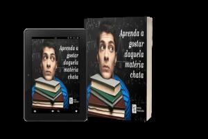 e-Book - Aprenda a gostar daquela matéria chata - Capa 3D